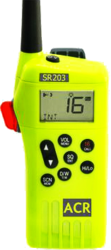 SR203 GMDSS Survival Radio